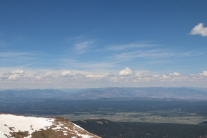 Fantastic views from the top of Pikes Peak