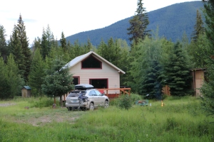 Our Home in Polebridge, Montana