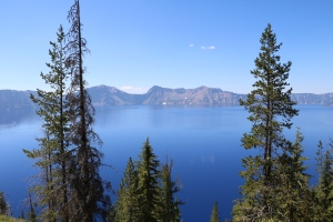 Beautiful views of Crater Lake National Park