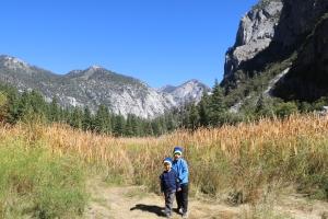 Amazing views through King Canyon National Park