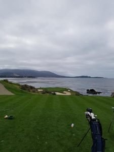 Aaron's view at Pebble Beach