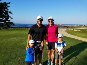 Family Golf Day at Pacific Grove