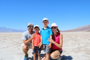 Badwater Basin - lowest point in North America at 282 feet below sea level