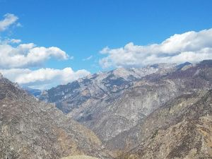 Breathtaking views in King Canyon National Park