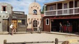 "O.K. Corral in Tombstone, Arizona - Live ""Shoot Out"""